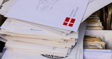 Caixa postal dos Correios
