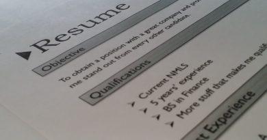 Currículo para o primeiro emprego