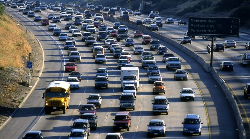Trânsito em Los Angeles